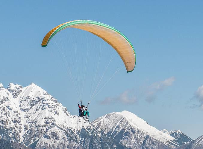 滑翔傘體驗